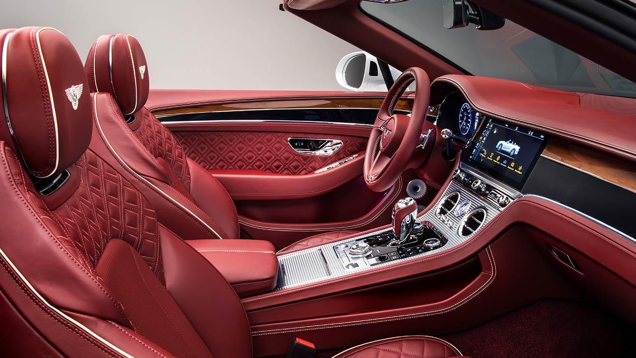 Bentley Continental GT Convertible W12 - Cockpit