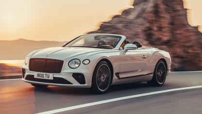 Bentley Continental GT Convertible W12 - Frontansicht