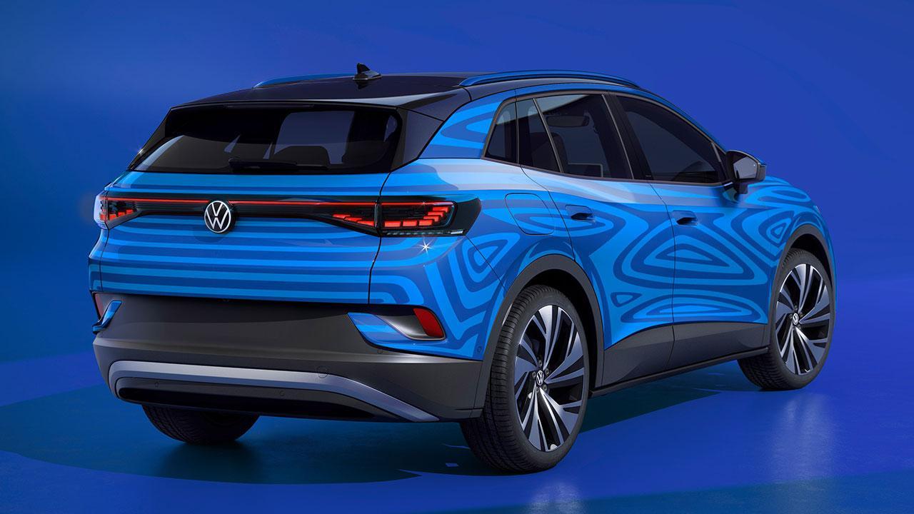 Volkswagen ID.4 - Heckansicht