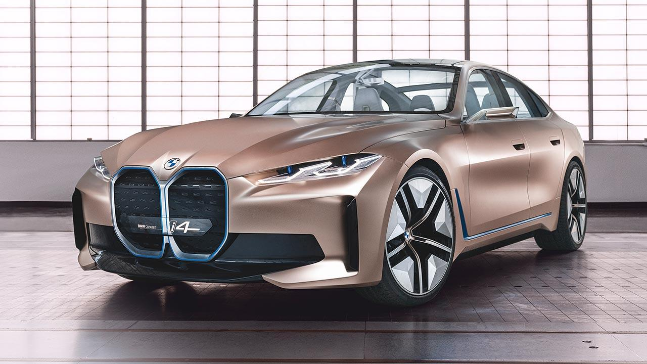 BMW Concept i4 - Frontansicht