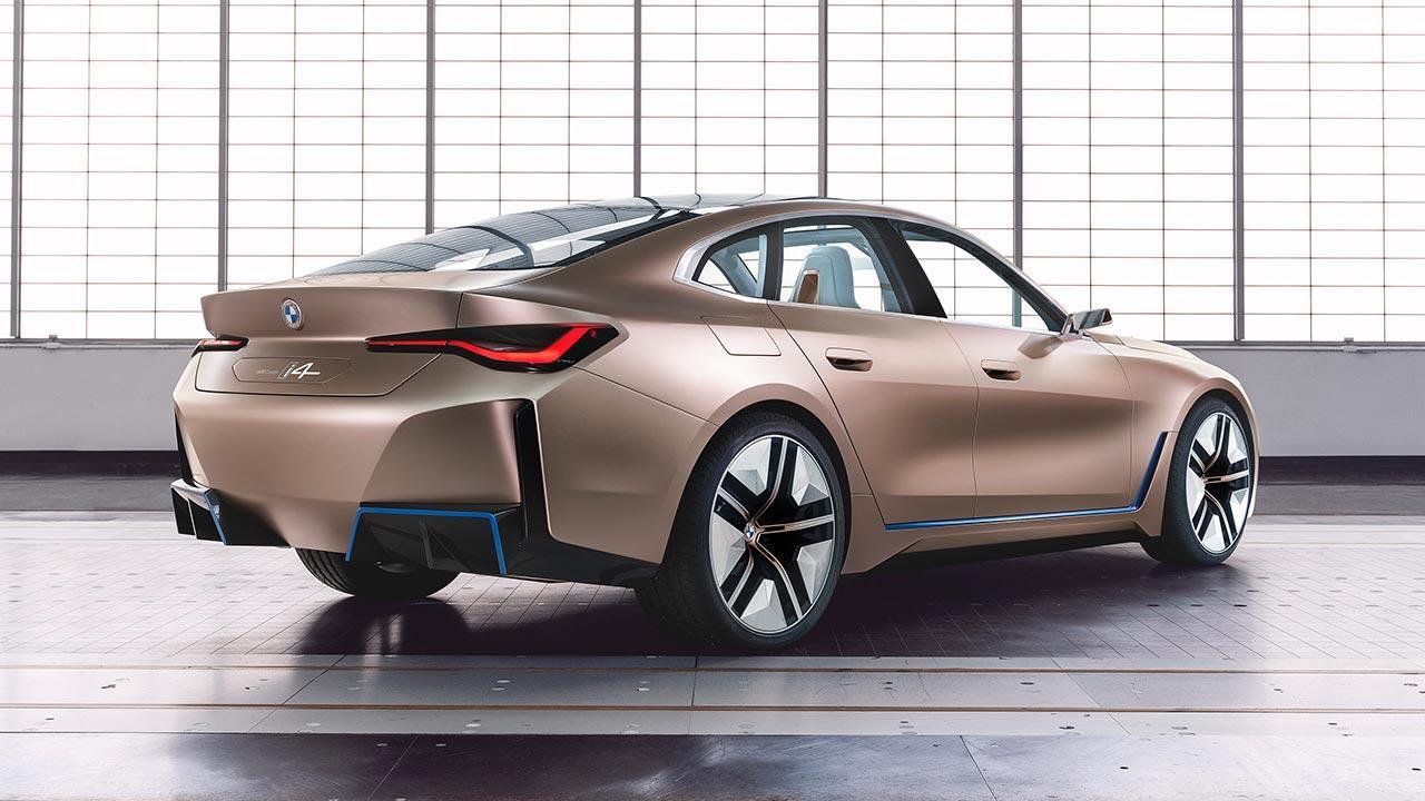 BMW Concept i4 - Heckansicht