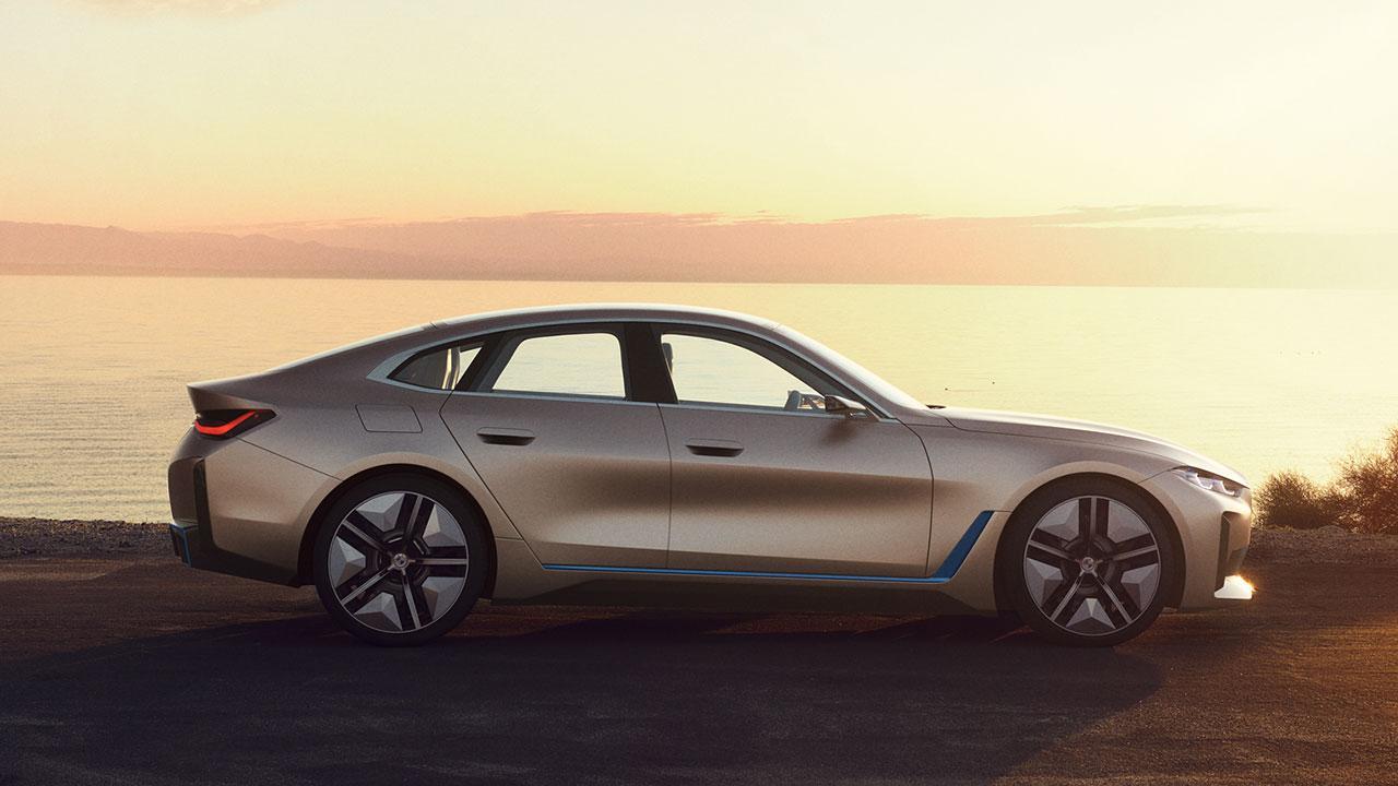 BMW Concept i4 - Seitenansicht