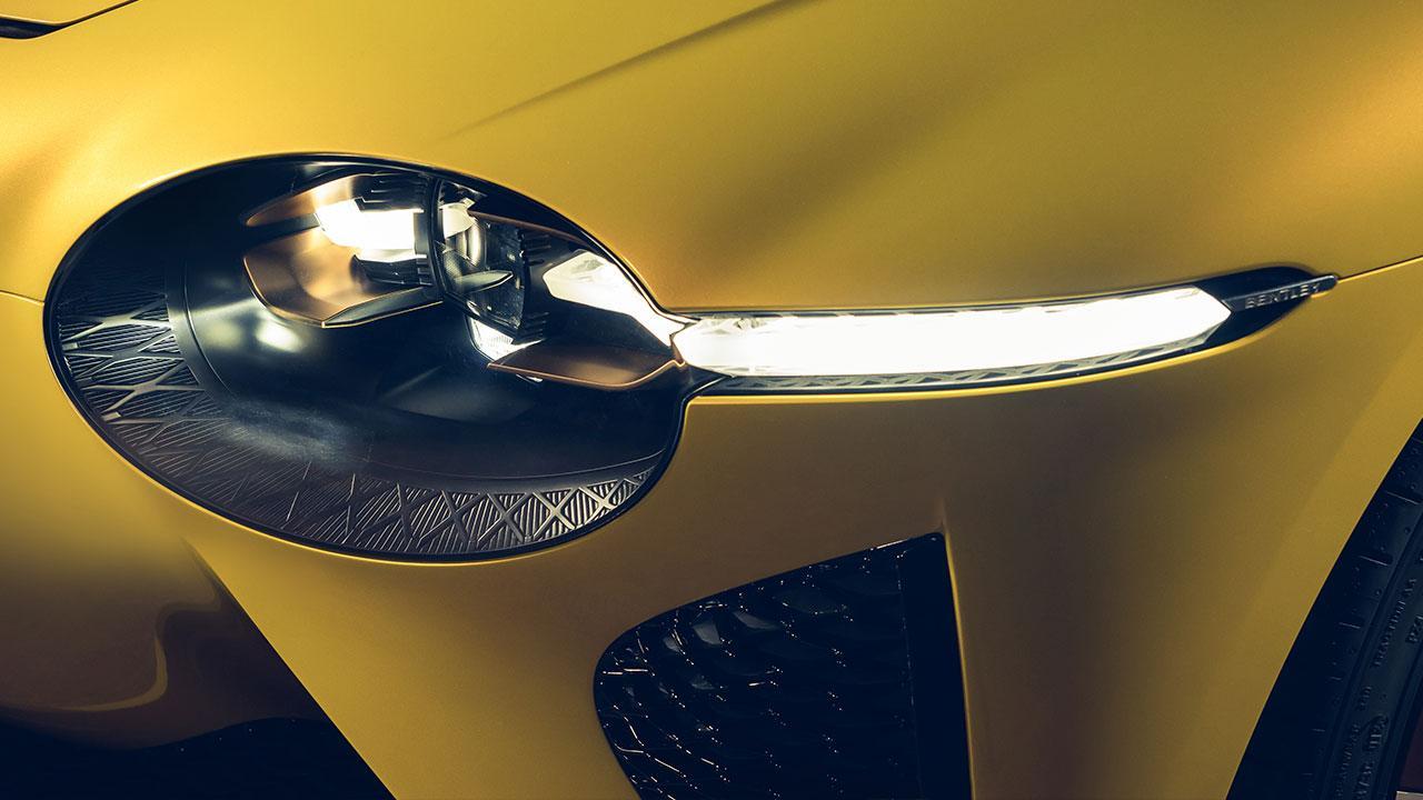 Bentley Bacalar Mulliner - Scheinwerfer
