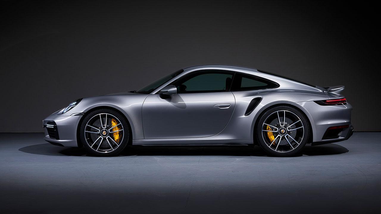 Porsche 911 Turbo S -  Seitenansicht