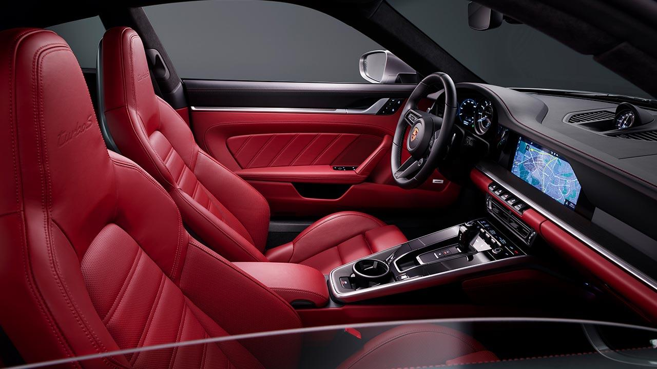 Porsche 911 Turbo S - Cockpit