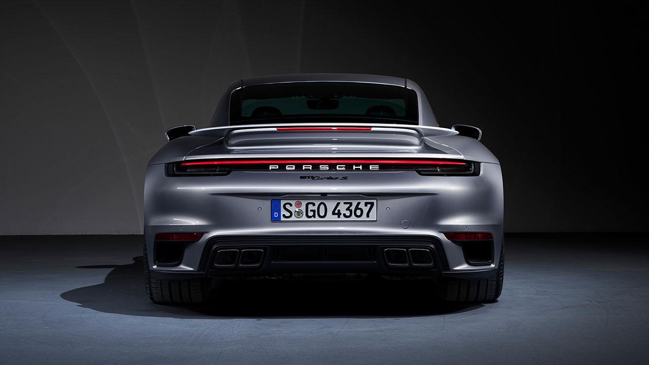 Porsche 911 Turbo S - Heckansicht