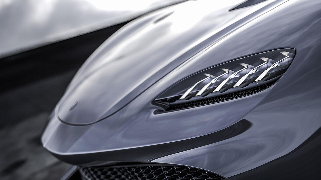 Koenigsegg Gemera 1700PS - Front
