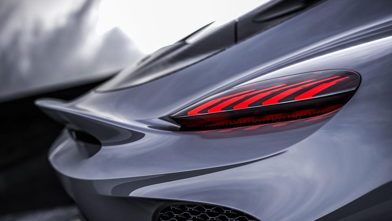 Koenigsegg Gemera 1700PS - Heck