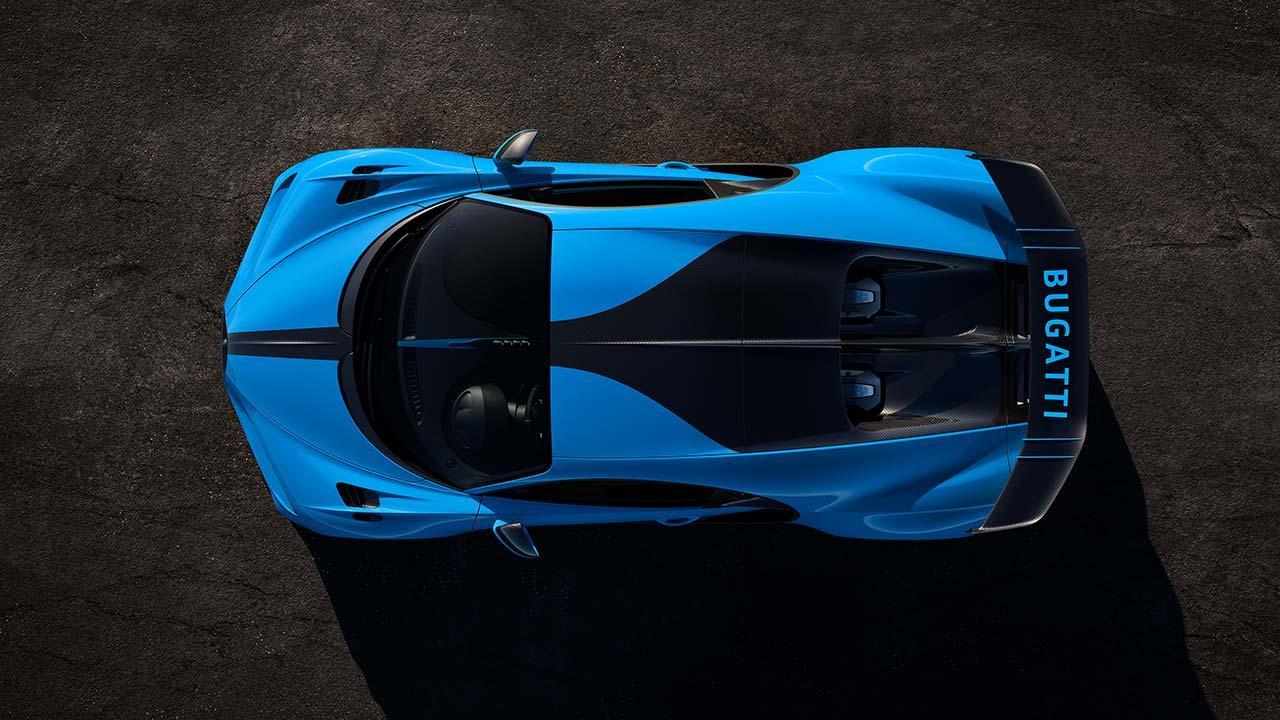 Bugatti Chiron Pur Sport - Vogelperspektive