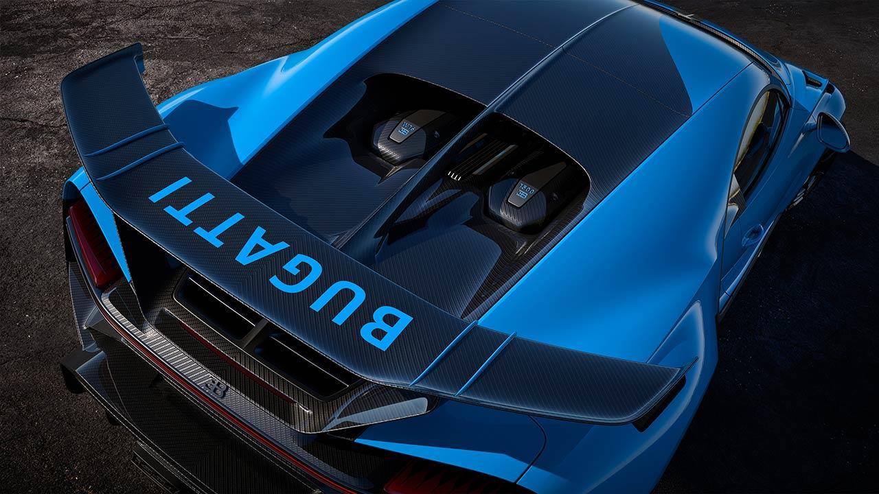Bugatti Chiron Pur Sport - Heck