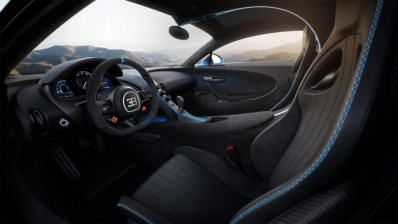 Bugatti Chiron Pur Sport - Cockpit