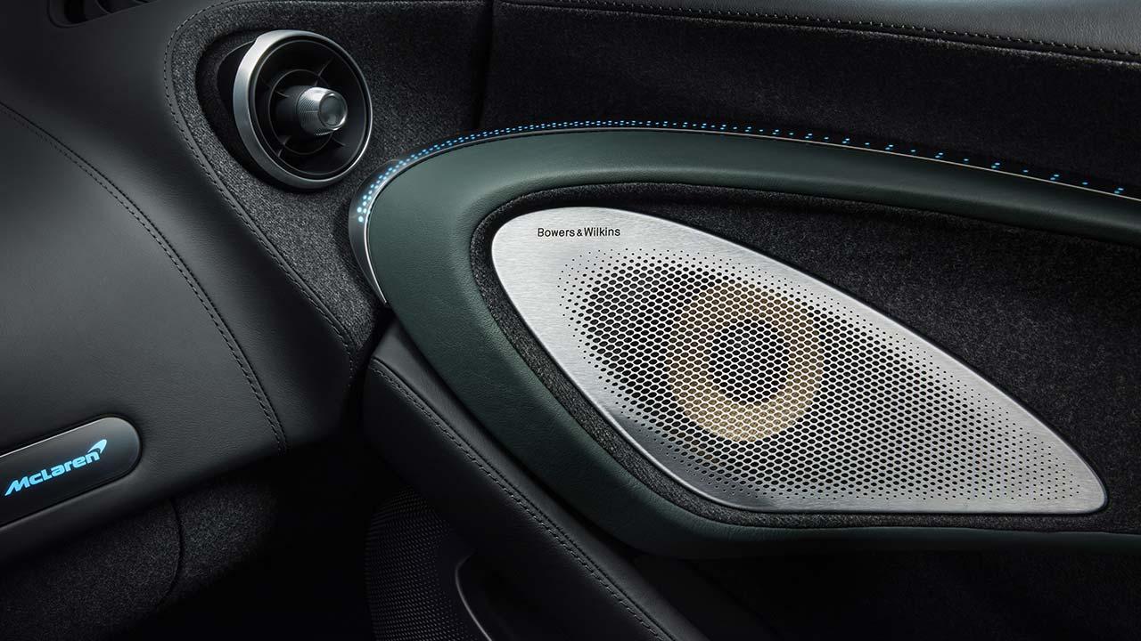 McLaren Thema GT von MSO - Soundanlage