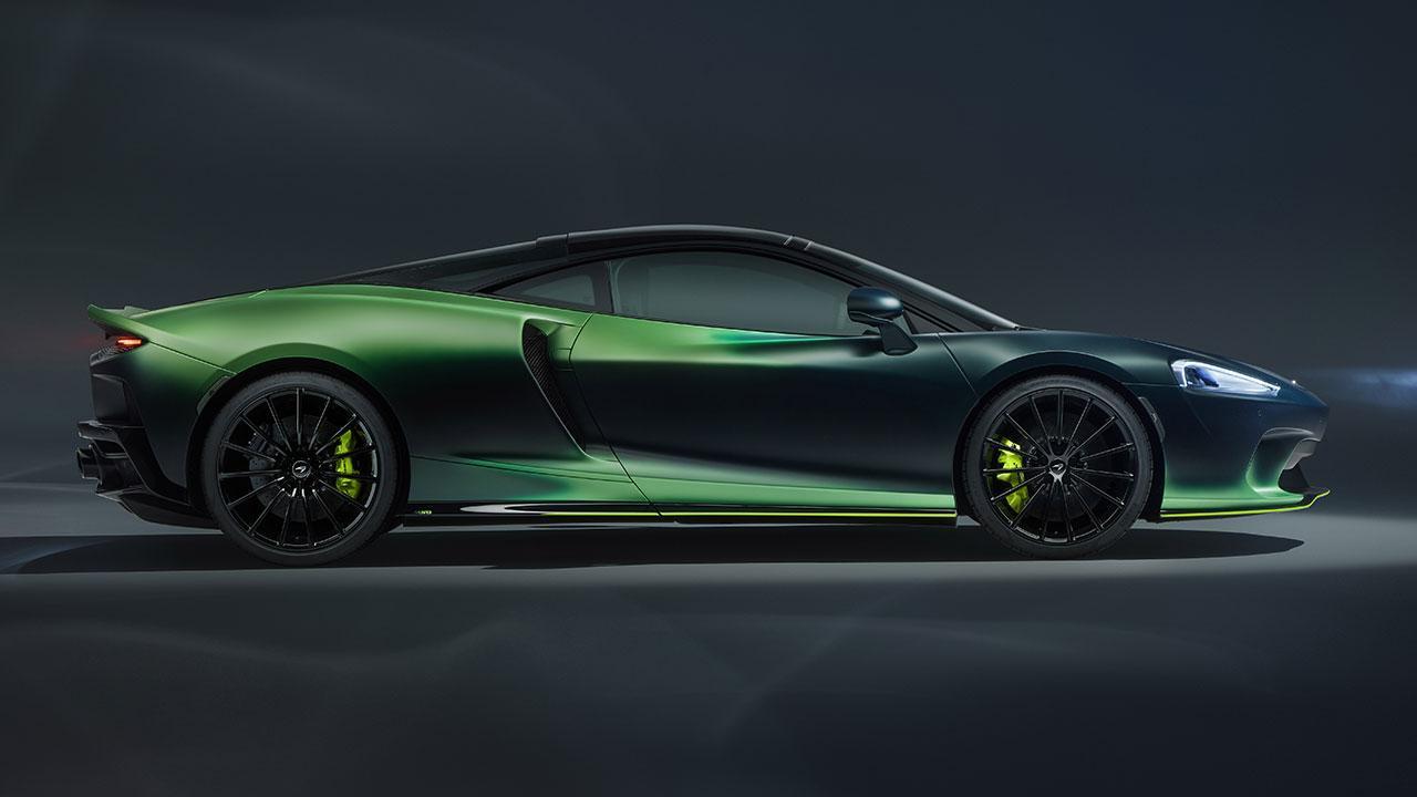 McLaren Thema GT von MSO - Seitenansicht