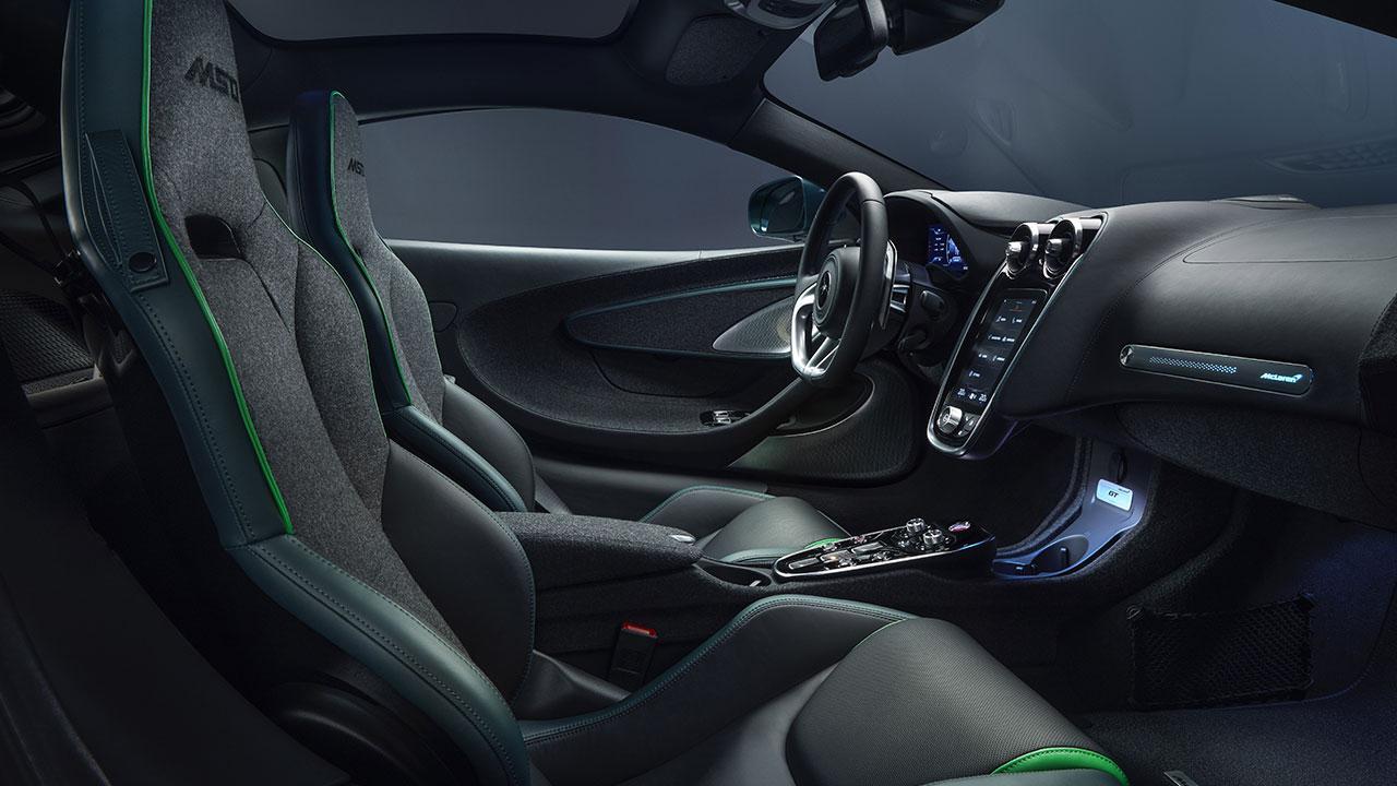 McLaren Thema GT von MSO - Cockpit