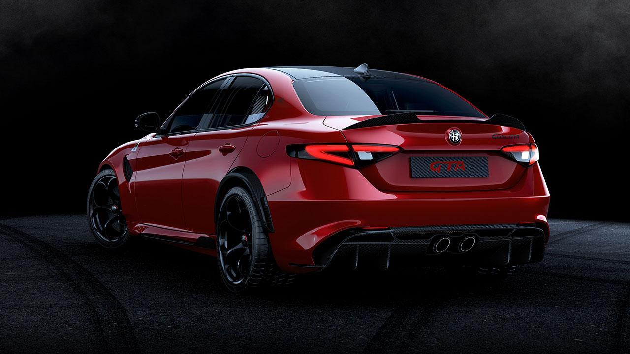 Alfa Romeo Giulia GTA - Heckansicht