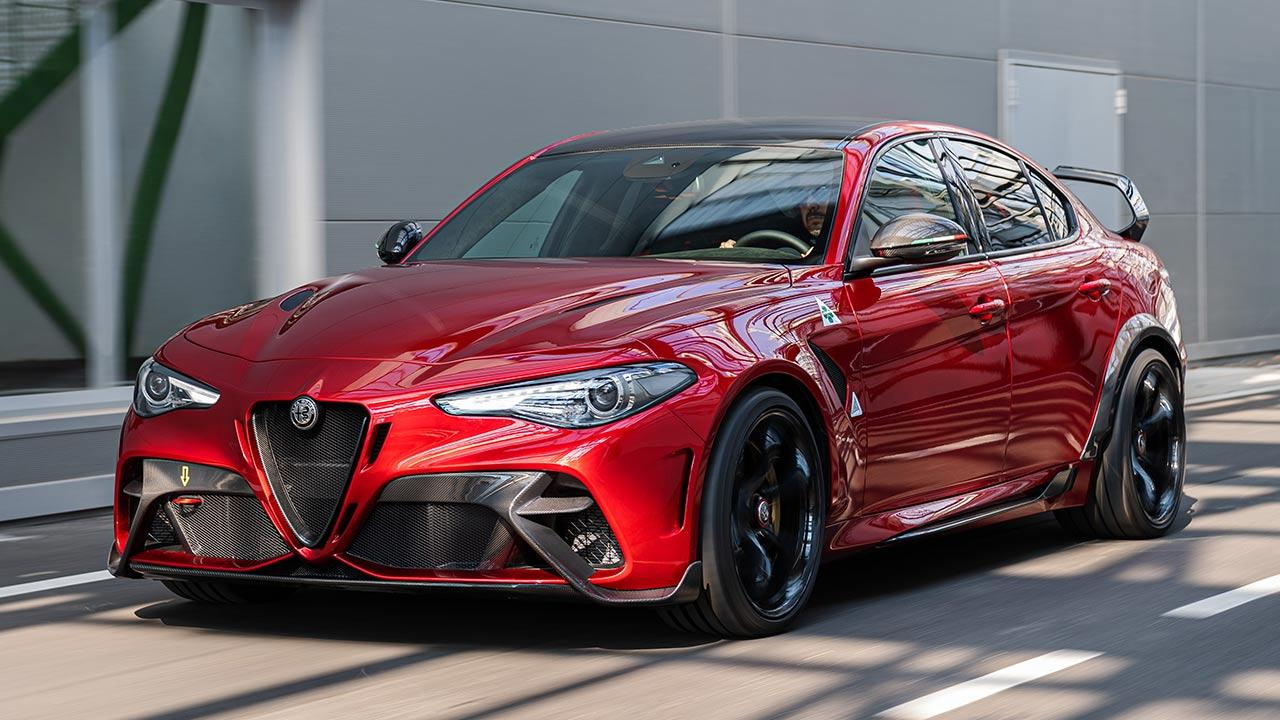 Alfa Romeo Giulia GTA - Frontansicht