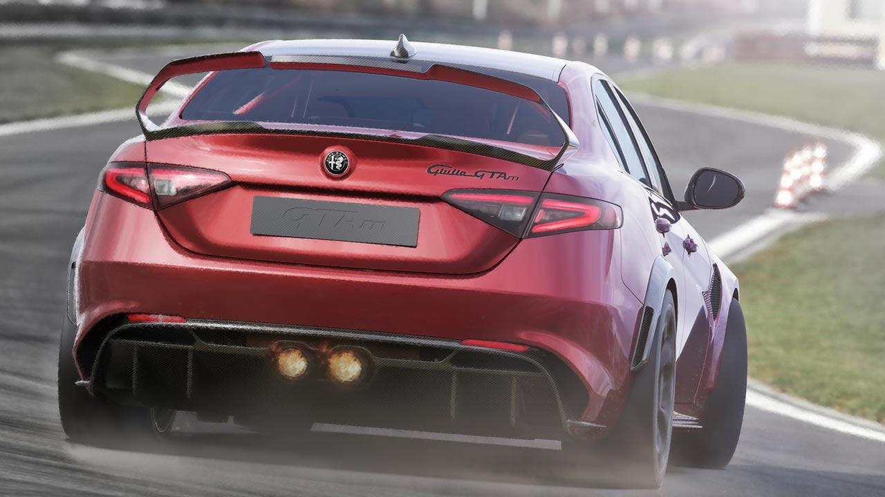 Alfa Romeo Giulia GTA - auf der Rennstrecke