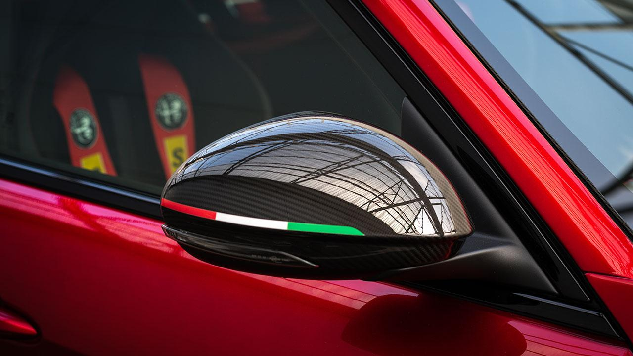 Alfa Romeo Giulia GTA - Rückspiegel
