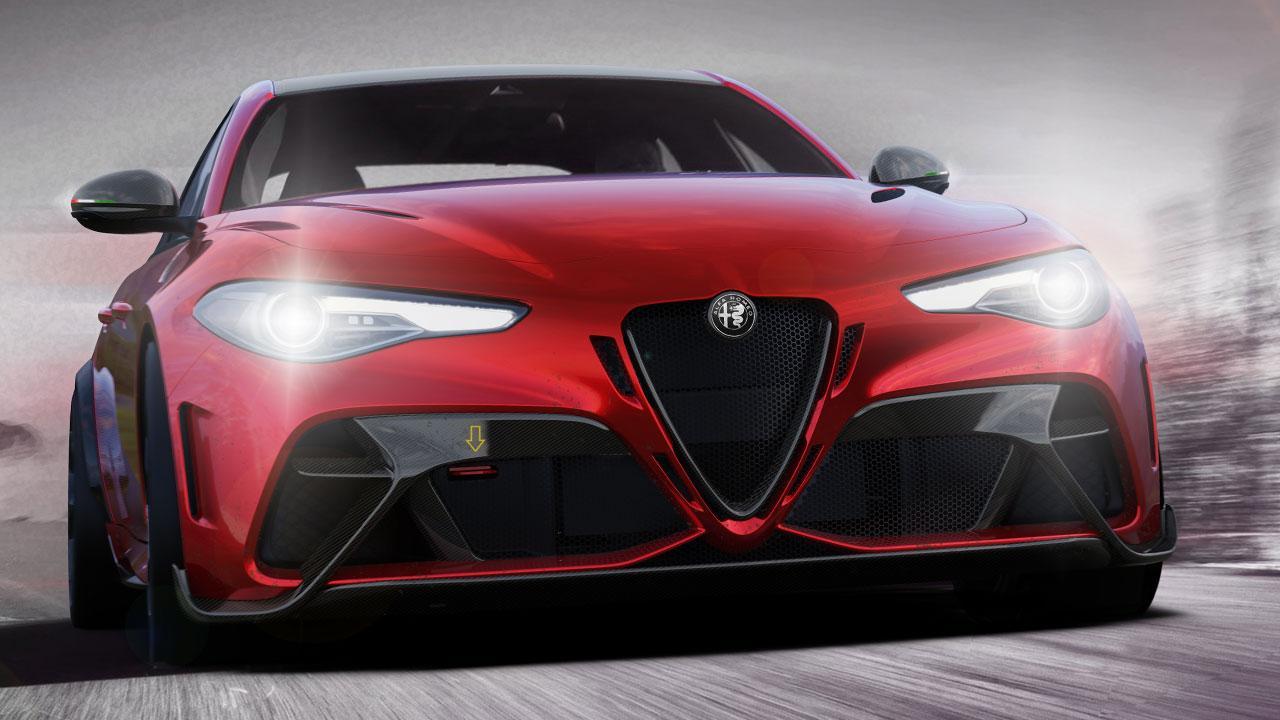 Alfa Romeo Giulia GTA - in voller Fahrt
