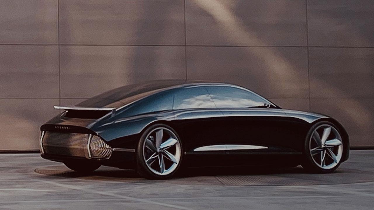 Hyundai Prophercy Concept EV - Heckansicht