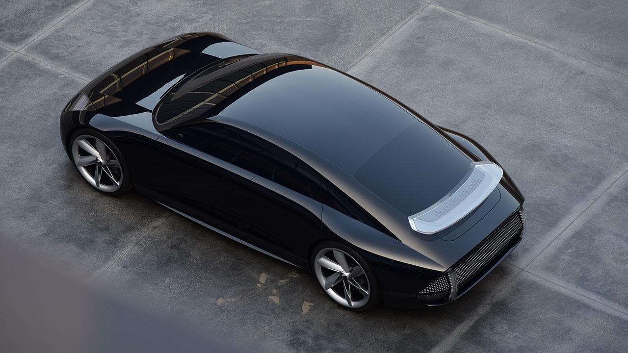 Hyundai Prophercy Concept EV - Vogelperspektive