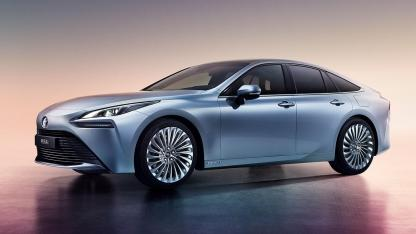 Toyota Mirai Concept - Frontansicht
