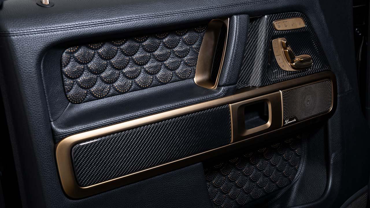 BRABUS 800 Black & Gold Edition - Seitenverkleidung