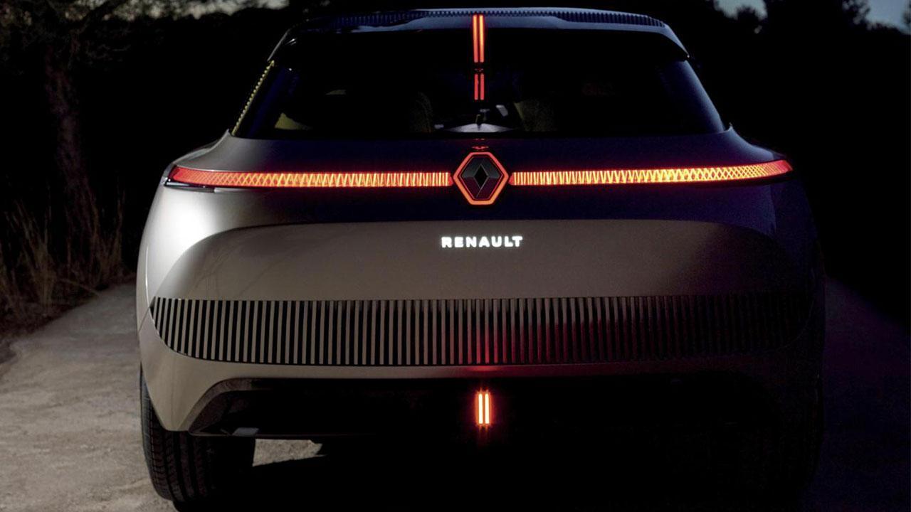 Renault MORPHOZ - Heckansicht