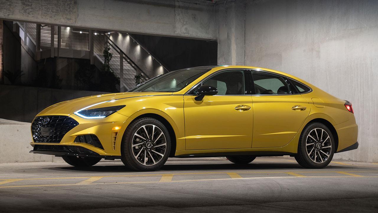Hyundai Sonata - Seitenansicht