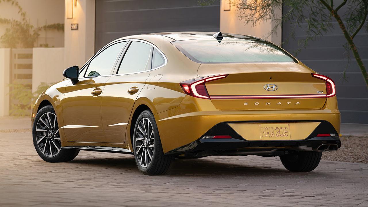 Hyundai Sonata - Heckansicht