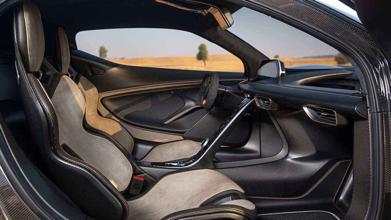 Lotus Evija - Cockpit