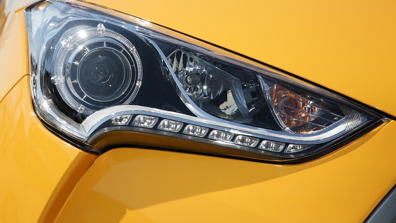 Hyundai Veloster - Scheinwerfer