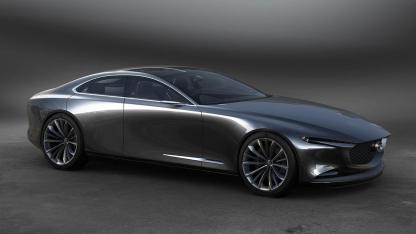 Mazda Vision Coupe Concept - seitlich Frontansicht