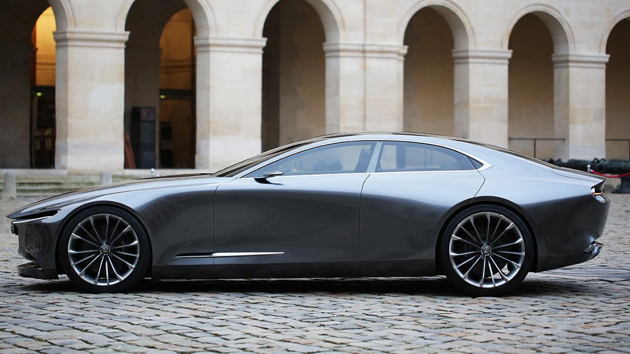 Mazda Vision Coupe Concept - Seitenansicht