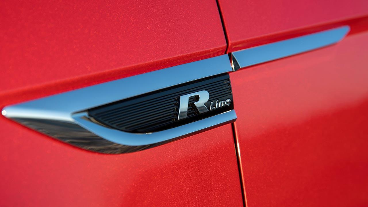 Volkswagen T-Roc Cabriolet R-Line - Schriftzug