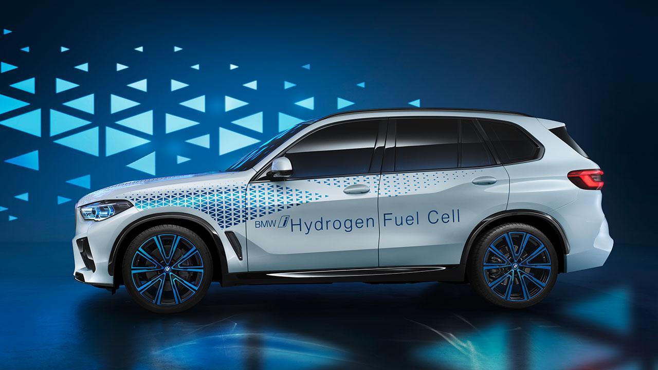 BMW i Hydrogen NEXT - Seitenansicht
