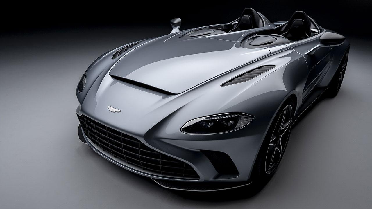 Aston Martin V12 Speedster - Frontansicht
