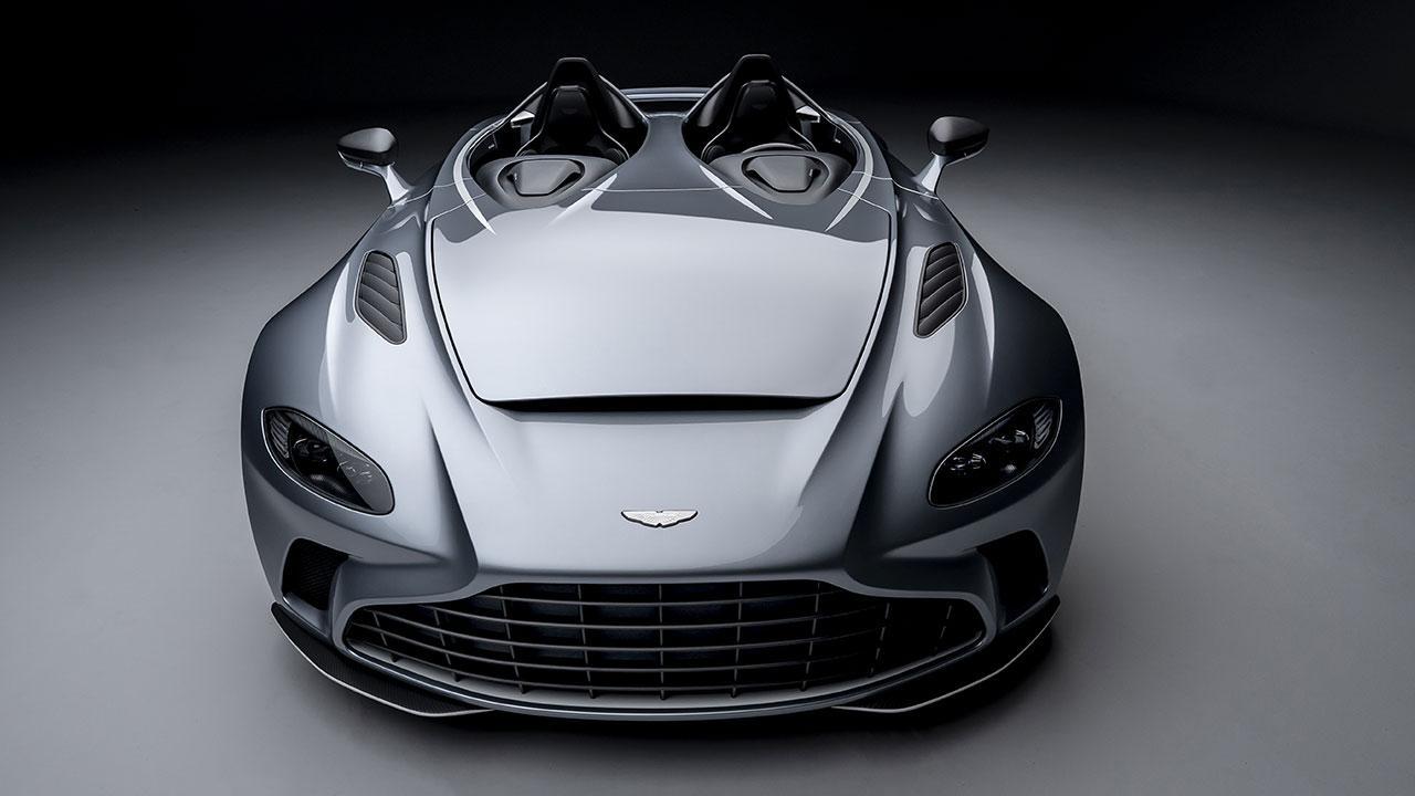 Aston Martin V12 Speedster - Topansicht