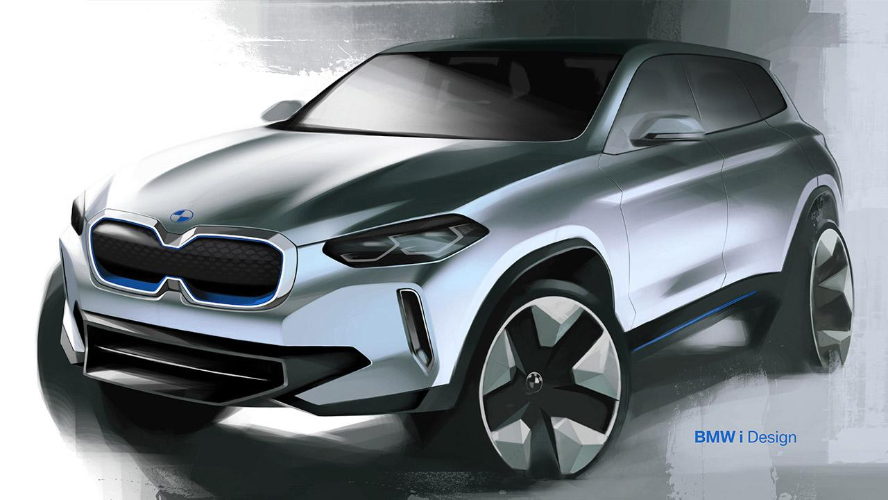BMW iX3 - Entwurf