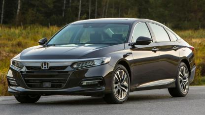 Honda Accord Hybrid Achieves - Front