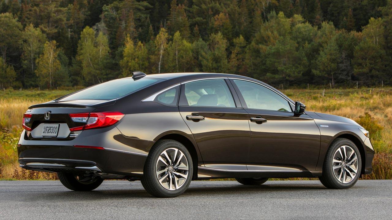 Honda Accord Hybrid Achieves - Heck
