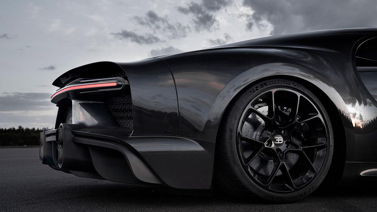 Bugatti Chiron Super Sport 300+ - Heck