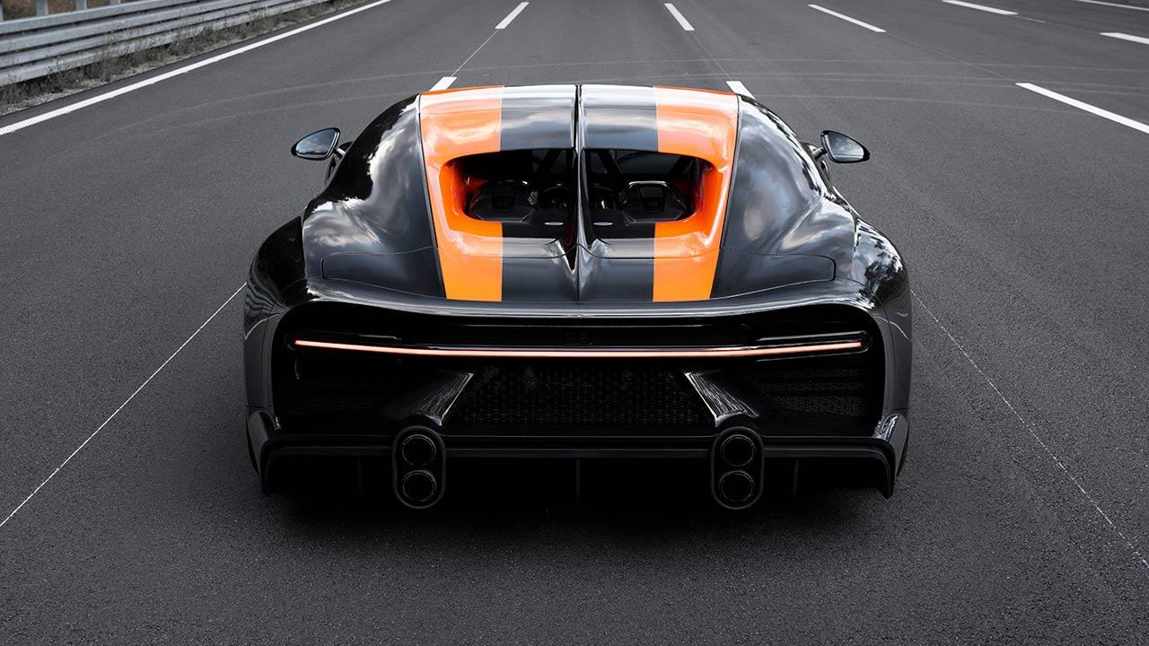 Bugatti Chiron Super Sport 300+ - Heckansicht