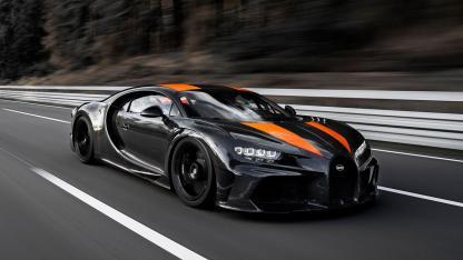 Bugatti Chiron Super Sport 300+ - auf der Rennstrecke