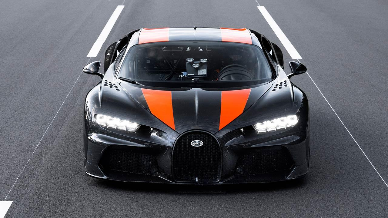 Bugatti Chiron Super Sport 300+ - Frontansicht