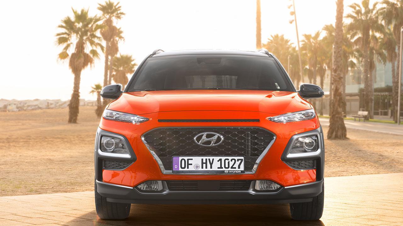 Hyundai Kona - Frontansicht