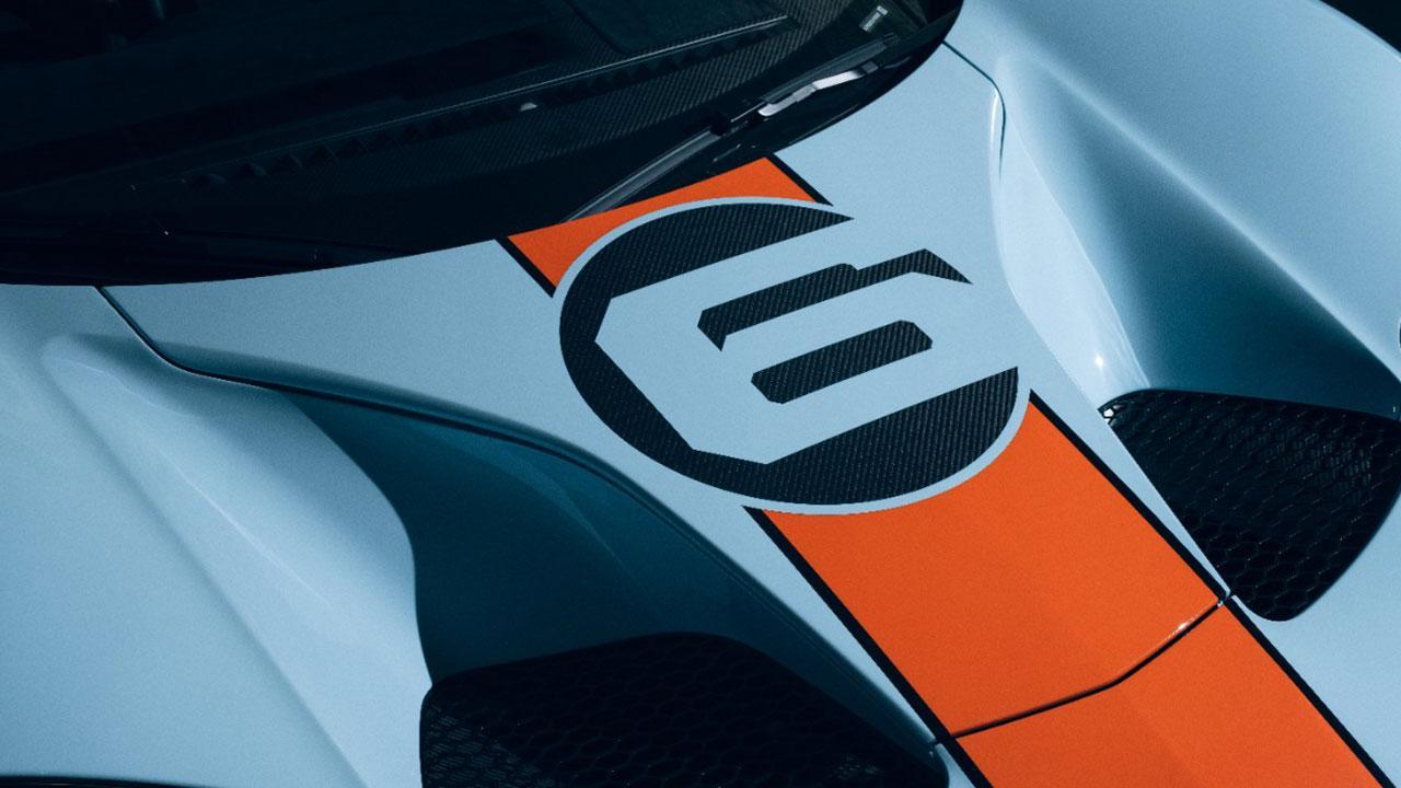 Ford GT Heritage Edition - Motorhaube