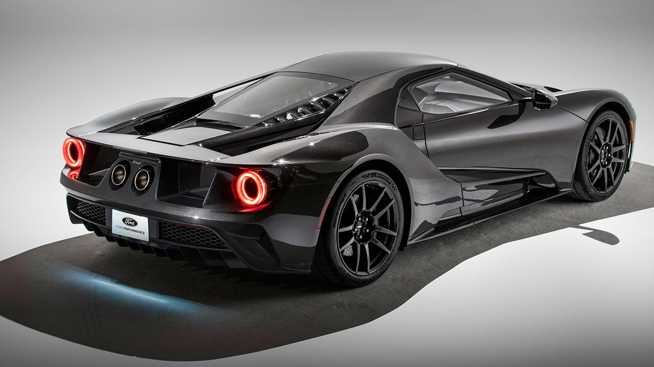 Ford GT Heritage Edition - Heck