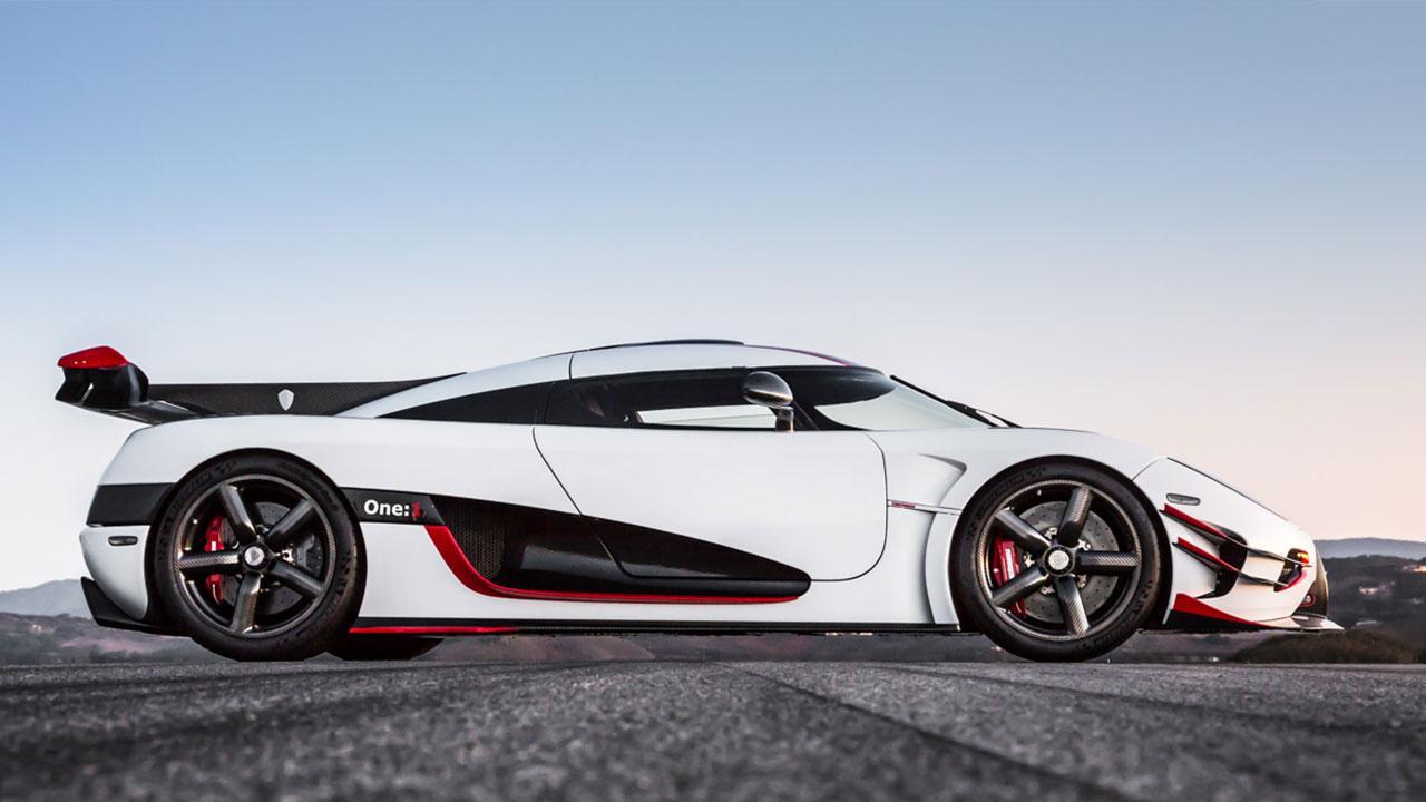 Koenigsegg One:1 - Seitenansicht
