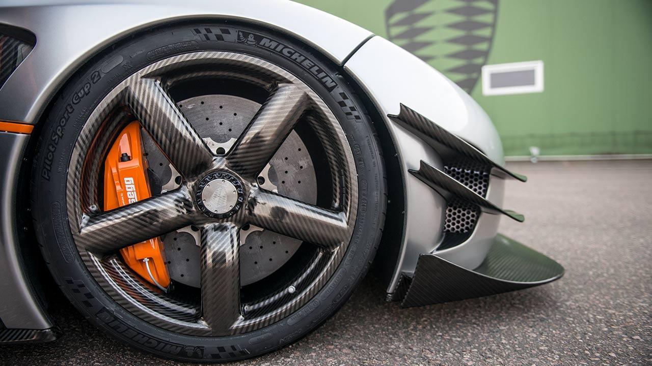 Koenigsegg One:1 - Carbonfelgen
